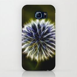 Fractal thistle iPhone Case