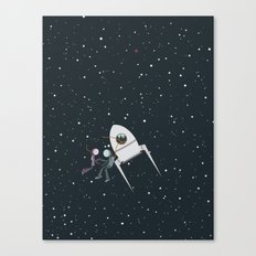 We and the Stars Canvas Print