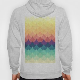 Sailing in Rainbow Waves Hoody