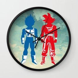 Warriors Wall Clock