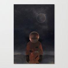 marooned astronaut Canvas Print