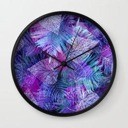 Forest Flora 3 Wall Clock