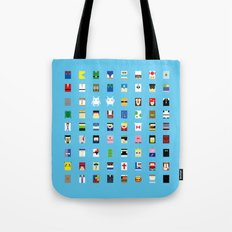 Minimalism beloved Videogame Characters Tote Bag