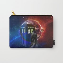 Tardis Dr Who of Nebula Carry-All Pouch