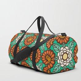 Betty Flowers Duffle Bag