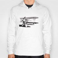 aviation Hoodies featuring Curtiss CR-1 Navy Racer by Rik Reimert