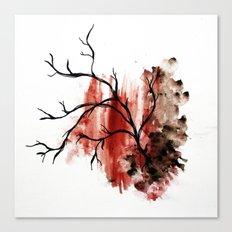 veiny Canvas Print