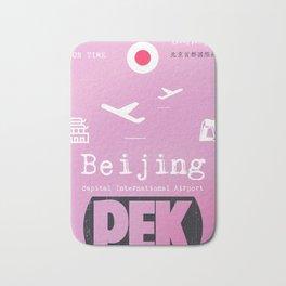PEK airport Beijing Bath Mat