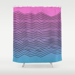 Stacks Shower Curtain