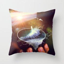 theine II Throw Pillow