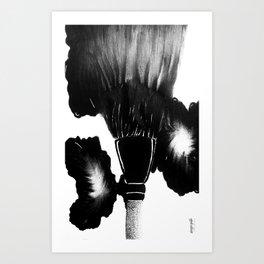 Bristles Art Print