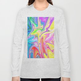 Gr00vy Waves Long Sleeve T-shirt