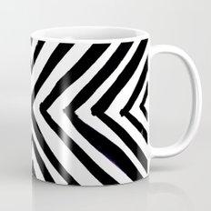 Angled Stripes Coffee Mug
