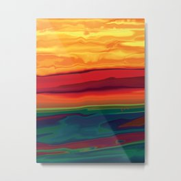 Sunset in Ottawa Vally 1 Metal Print