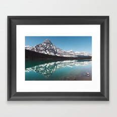 Reflection in the Rockies Framed Art Print
