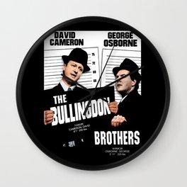 the Bullingdon Brothers Wall Clock