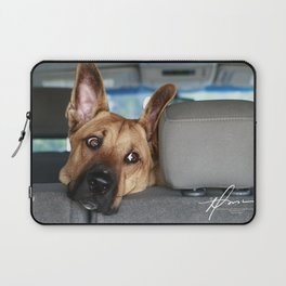 Tanner In the Backseat Laptop Sleeve
