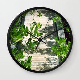 Long Key Boardwalk Wall Clock