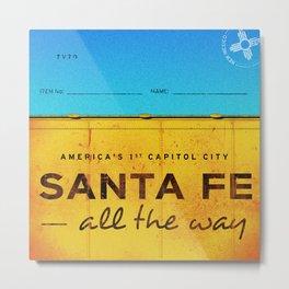 Santa Fe Metal Print