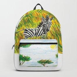 Careless zebra Backpack