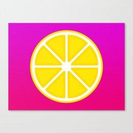 Citron Canvas Print