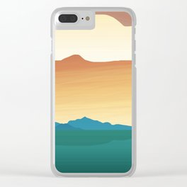 Spied Islands Clear iPhone Case