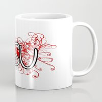 ohio Mugs featuring Ohio St. by Tanie