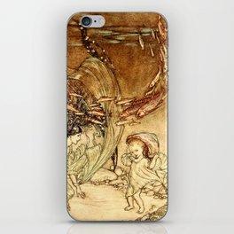 Arthur Rackham - Fouqué - Undine (1909) - The Infancy of Undine iPhone Skin