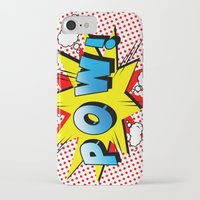 comics iPhone & iPod Cases featuring comics  by mark ashkenazi