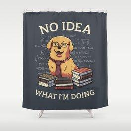 No Idea Shower Curtain