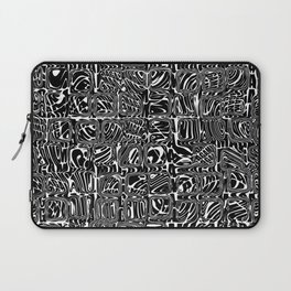 Abstract MAGA Typography Laptop Sleeve