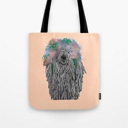 Dredlock Dog (Pastel Orange Edition) Tote Bag