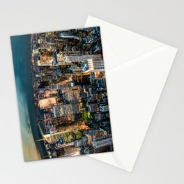 NYC never sleeps Stationery Cards