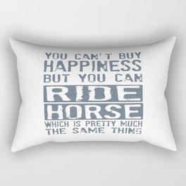 RIDE HORSE Rectangular Pillow