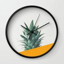Pineapple Dip IV Wall Clock