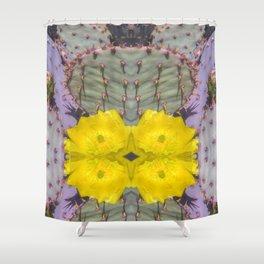 Santa Rita Prickly Pear Shower Curtain