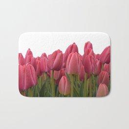 Tulips Field #7 Bath Mat