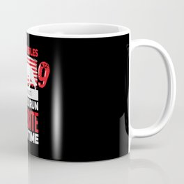 Fur Missile K9 Teaching Idiots Not To Run One Bite At A Time Coffee Mug