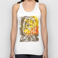 namaste Tank Tops featuring Namaste by SpecialTees