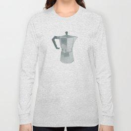 Coffee Blues Long Sleeve T-shirt