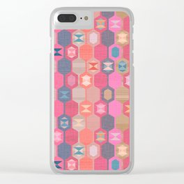 Turkish Delight Clear iPhone Case