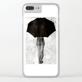 It Can not Rain Clear iPhone Case