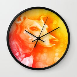 Kanga, the brightest light Wall Clock