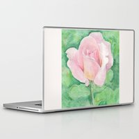 tiffany Laptop & iPad Skins featuring Tiffany Rose by Annie Mason