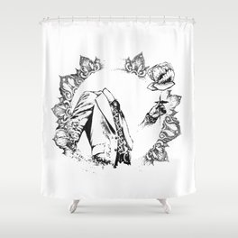 The Headless Bruce - MiguelRC Shower Curtain
