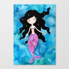Sirena Liliana Canvas Print