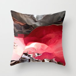 Ruby between the Rocks Throw Pillow