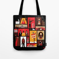 fargo Tote Bags featuring Fargo Season 2 by Take Heed