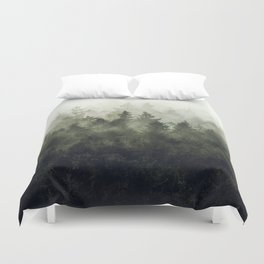 The Heart Of My Heart // Green Mountain Edit Duvet Cover