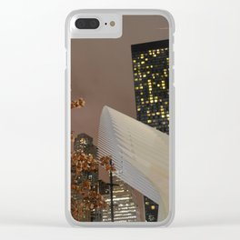 Oculus of NYC Clear iPhone Case